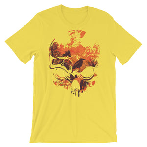 Inside The Skull Unisex T-Shirt - desseni