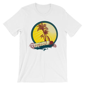 Tropical Palm Tree T-Shirt– Shop for Tropical Palm Tree Unisex T-Shirts Online – Desseni