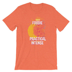 Virgo Foodie Practical Intense Unisex Desseni T-Shirt