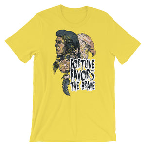 Fortune Favors The Brave T-Shirt– Shop for Fortune Favors The Brave Unisex T-Shirts Online – Desseni
