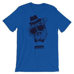 Old Viking With Sunglasses Jersey Unisex T-Shirt - desseni