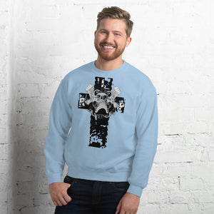 Cross and Skull Men's Sweatshirt