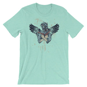 Winged Killer Unisex T-Shirt - desseni