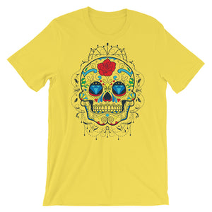 Diamond Sugar Skull Unisex T-Shirt