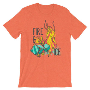 Fire And Ice T-Shirt– Shop for Fire And Ice Unisex T-Shirts Online – Desseni