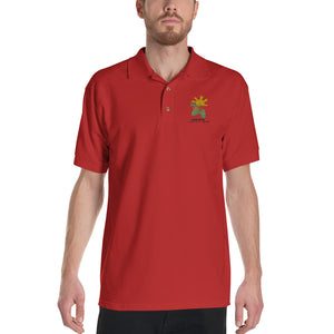 Over 9000 | Men's Embroidered Polo Shirt - desseni