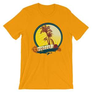 Tropical Palm Tree Unisex T-Shirt