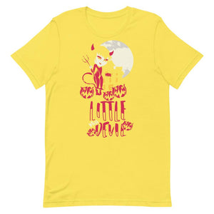 Little Miss Devil Unisex T-Shirt - desseni