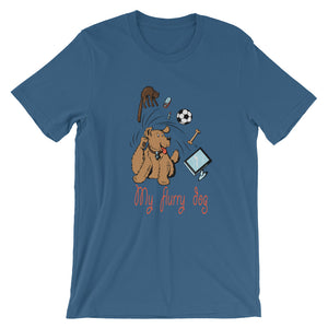 My Flurry Dog Unisex T-Shirt - desseni
