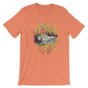 Old Car Stop T-Shirt– Shop for Old Car Stop Unisex T-Shirts Online – Desseni