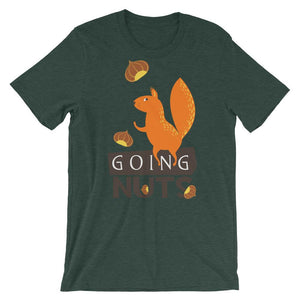 Going Nuts Unisex T-Shirt - desseni
