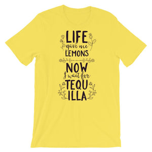 Life Gave Me Lemons T-Shirt– Shop for Life Gave Me Lemons Unisex T-Shirts Online – Desseni