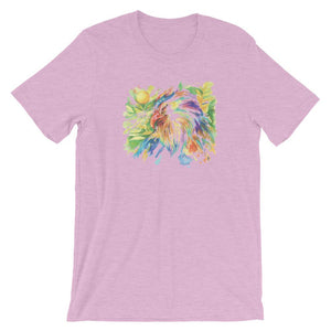 Colorful Eagle Unisex T-Shirt - desseni