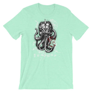 Scary Octopus T-Shirt– Shop for Scary Octopus Unisex T-Shirts Online – Desseni