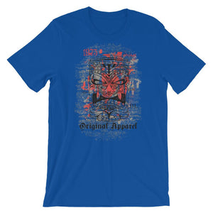 Original Apparel Mayan Mask Unisex T-Shirt - desseni