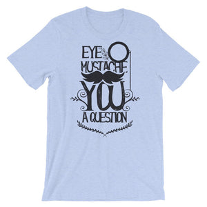 Eye Mustache Graphic T-Shirt– Shop for Eye Mustache Graphic Unisex T-Shirts Online – Desseni