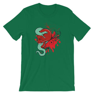Red Skull and Snake T-Shirt– Shop for Red Skull and Snake  Unisex T-Shirts Online – Desseni