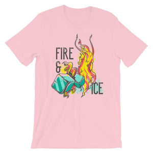 Fire And Ice Unisex T-Shirt - desseni