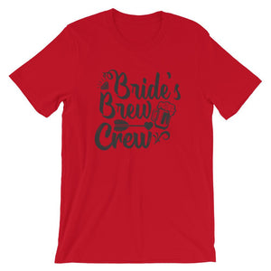 Bride's Crew Unisex Graphic T-Shirt - desseni