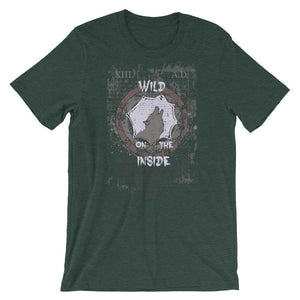 Wild On The Inside T-Shirt– Shop for Wild On The Inside Unisex T-Shirts Online – Desseni