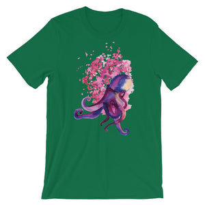 Purple Octopus T-Shirt– Shop for Purple Octopus Unisex T-Shirts Online – Desseni
