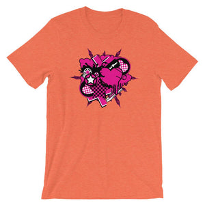 Pink World Unisex Graphic T-Shirt - desseni