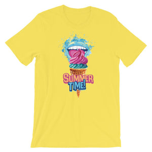 Ice Cream Summer Time Unisex T-Shirt - desseni