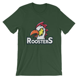Rooster Unisex T-Shirt - desseni