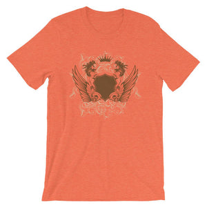 Womens And Skulls Orange T-Shirt– Shop for Womens And Skulls Unisex T-Shirts Online – Desseni