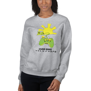 Over 9000 Women's Sweatshirt