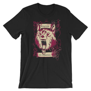 Winter Is Coming Unisex T-Shirt - desseni
