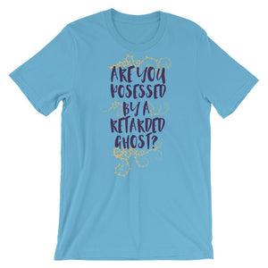 Are You Possessed T-Shirt– Shop for Are You Possessed Unisex Blue T-Shirts Online – Desseni