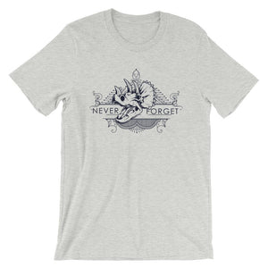 Never Forget Dinosaur T-Shirt– Shop for Never Forget Dinosaur Unisex T-Shirts Online – Desseni