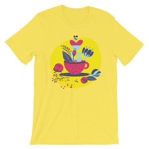 A Cup Of Happiness Unisex Desseni T-Shirt