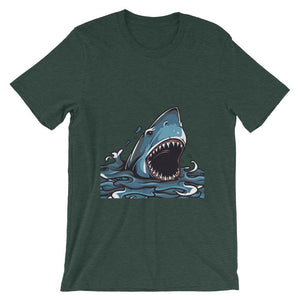 Great Shark Unisex T-Shirt - desseni