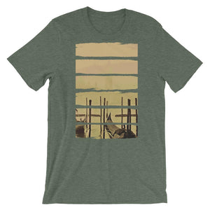 Cockle Boat Unisex T-Shirt - desseni