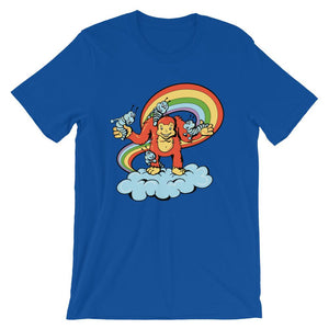 Above The Clouds Unisex Funny T-Shirt - desseni