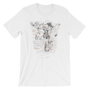 Rythim Of War T-Shirt– Shop for Rythim Of War Unisex T-Shirts Online – Desseni