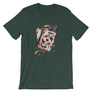 Aces And Joker Unisex T-Shirt - desseni