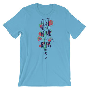 Out Of My Mind Back In 5 Unisex T-Shirt - desseni