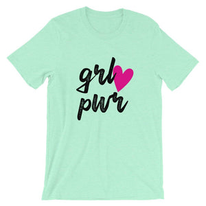 Girl Power Unisex T-Shirt - desseni
