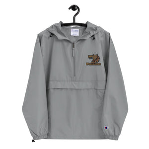 Wolverines Embroidered Champion Packable Jacket