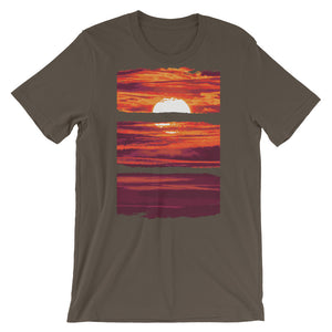 Sunset T-Shirt– Shop for Sunset Unisex T-Shirts Online – Desseni