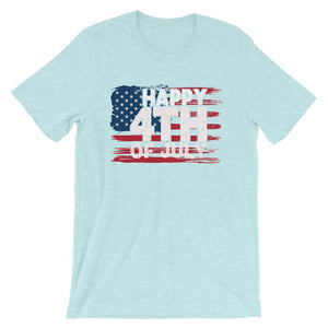 Happy 4TH Of July Unisex T-Shirt - desseni