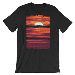 Sunset Unisex T-Shirt - desseni