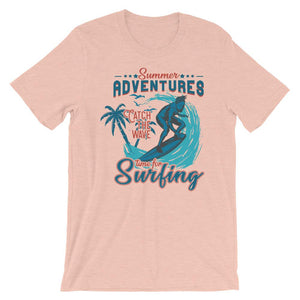 Time For Surfing Unisex T-Shirt - desseni