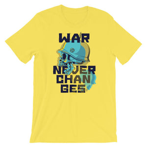 War Never Changes Unisex T-Shirt - desseni