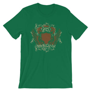 Womens And Skulls Green T-Shirt– Shop for Womens And Skulls Unisex T-Shirts Online – Desseni