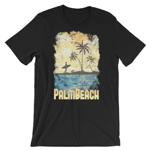 Surfer on Beach T-Shirt– Shop for Surfer on Beach Unisex T-Shirts Online – Desseni