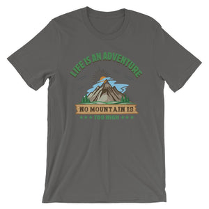 Life Is Adventure Unisex T-Shirt - desseni